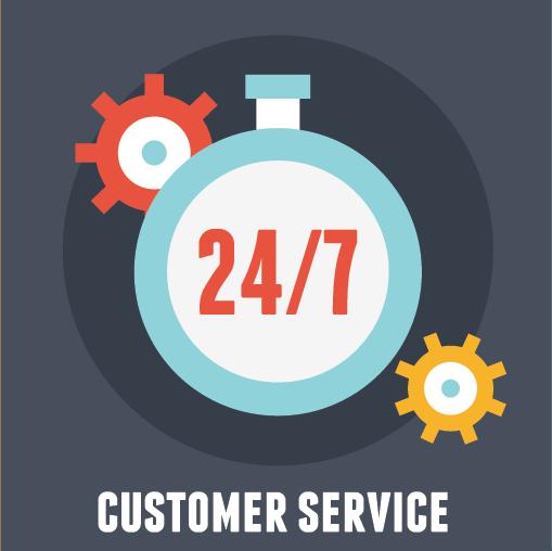 Services clientèles continus